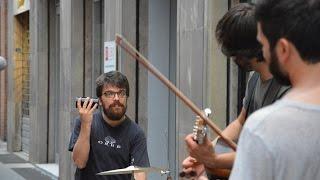 Download TwinPeas Ensemble | Vengo anch'io. No, tu no | Live Ferrara Buskers Festival 2016 MP3 song and Music Video