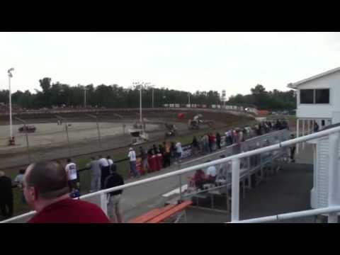 Josh Turner & Mark Aldrich Heat race Lima Land Speedway