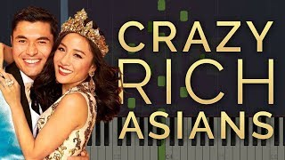 Gambar cover Can't Help Falling In Love | Crazy Rich Asians | Piano Tutorial/Cover