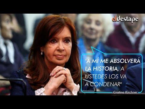 Cristina Kirchner : Declaración completa