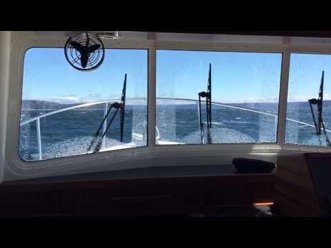 Nordic Tug 34 in 4 ft Waves