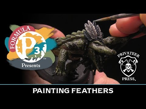 Formula P3 Presents: Painting Feathers