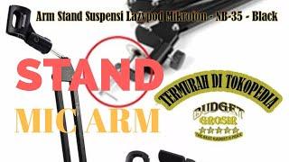 Stand Mic Arm Boom Scissor Terlaris