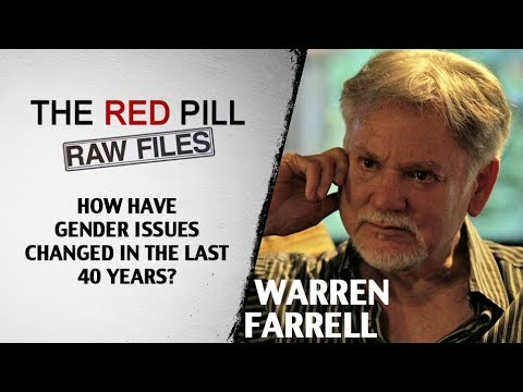 How Have Gender Issues Changed In The Last 40 Years? | Dr. Warren Farrell #RPRF