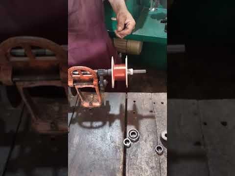 Amazing Celling Fan winding Coil Making Hand  Machine Skills#short