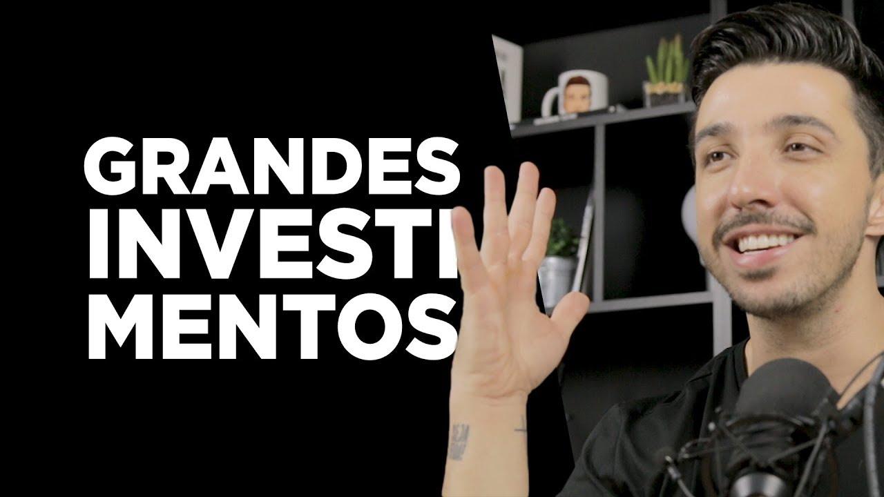 5 Grandes investimentos, com baixo recurso! - Fala Caio Ep. 332 | Caio Carneiro