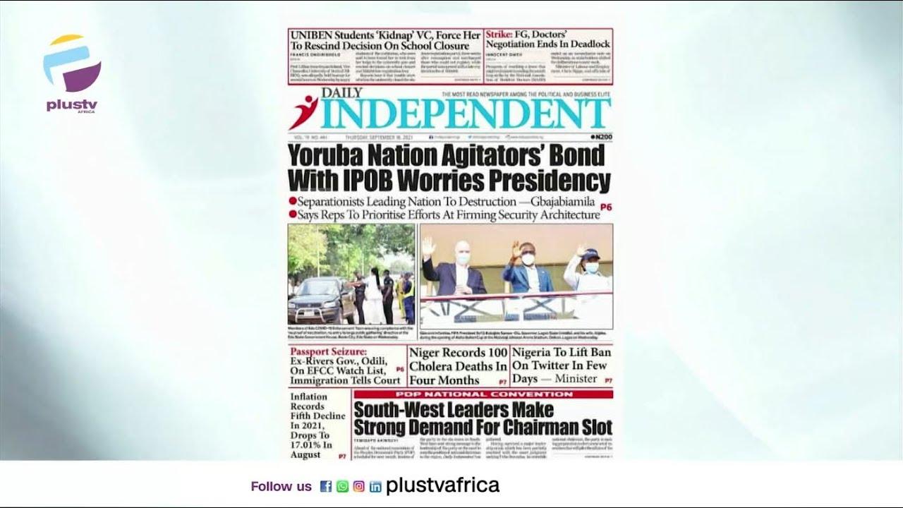 Download Yoruba Nation Agitators' Bond With IPOB Worries Over Presidency | OFF THE PRESS
