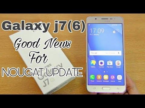 Samsung Galaxy J7 (2016) Nougat Update Related News   