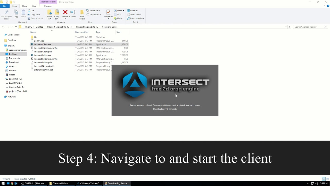 Intersect Getting Started Guide