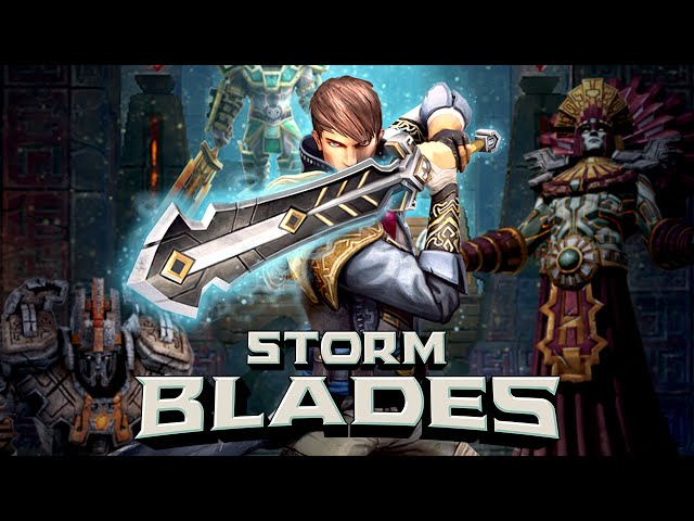 Stormblades slashes into Android, almost like Infinity Blade