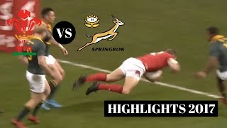 SOUTH AFRICA VS WALES | HIGHLIGHTS | NOVEMBER TEST | 2017