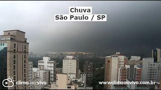 Formação de chuva em São Paulo / SP - 20/10/20