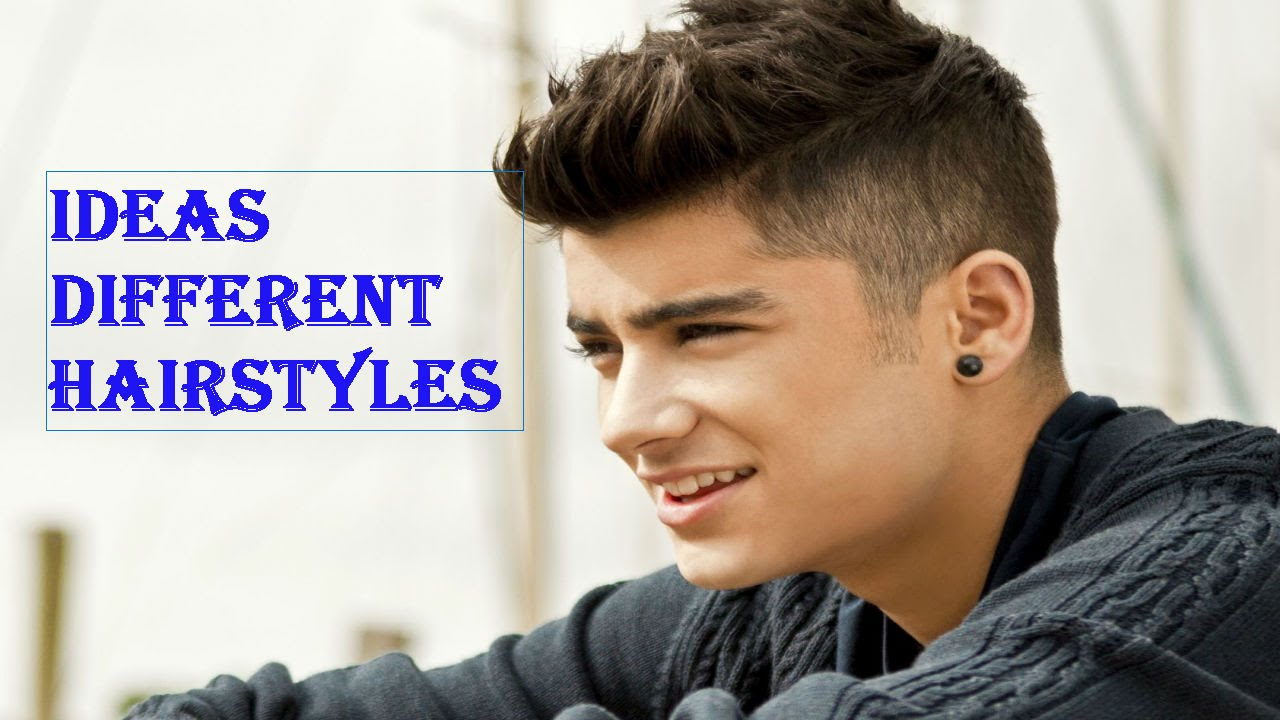 Ideas Different Hairstyles For Men