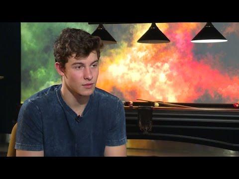 Se hela intervjun med Shawn Mendes - Nyheterna (TV4)