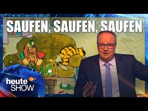 Alkohol, das Lieblingsgift der Deutschen | heute-show vom 24.03.2017