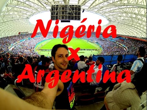 Nigeria vs Argentina - Beira Rio Stadium - 2014 Brazil World