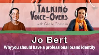 Jo Bert - Why you should have a professional brand identity