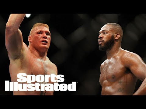 Brock Lesnar On Potential Jon Jones Superfight: 'Anytime, Anywhere'   SI Wire   Sports Illustrated