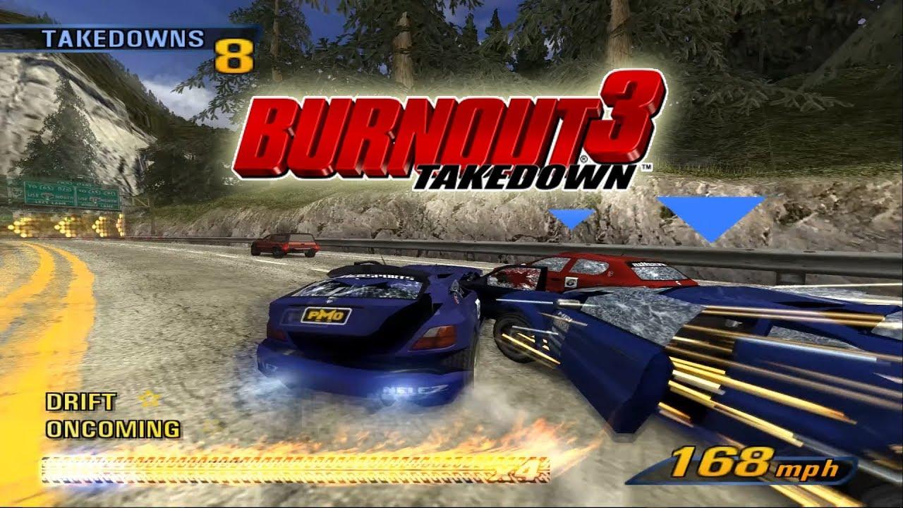 PCSX2 Emulator 1 5 0-2193 | Burnout 3: Takedown [1080p HD]