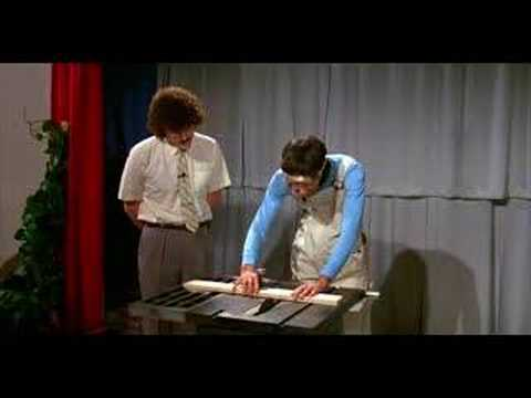Emo Philips on UHF - How To Operate A Table Saw