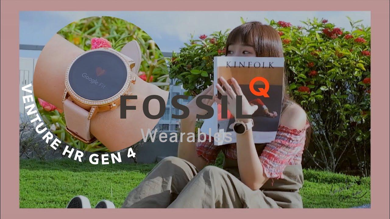 Laries | A Day with FOSSIL Q Venture HR Gen 4 Smartwatch