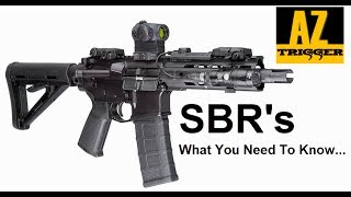 Short Barrel Rifle Review (SBR)  - Are They Worth It?