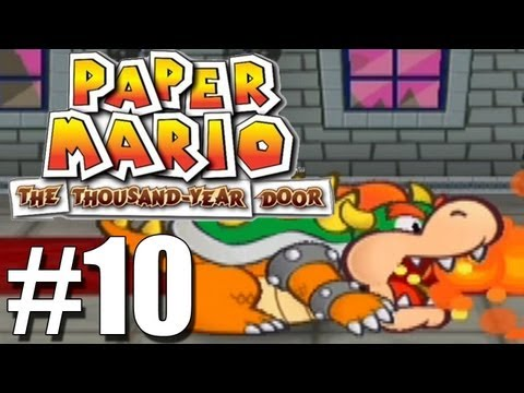 Let's Play Paper Mario:TTYD (Blind) -10- PEACH GETS NAKED! And someone hits on her.