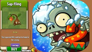 Plants vs Zombies 2 - New Plant Sap-Fling Could Not Be Found In The Catalog