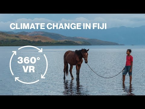 Climate Change in Fiji in VR: 'Our Home, Our People'