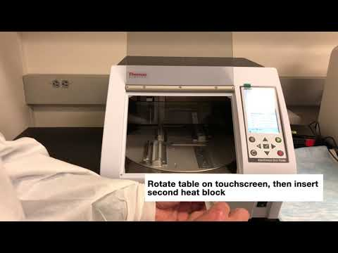 Thermo Fisher KingFisher Duo Prime System: How To Change Heat Block
