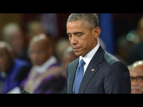 Raw: Obama eulogizes pastor killed in church shooting