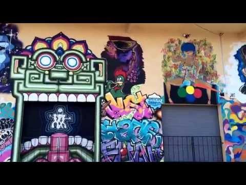 Hidden Murals in Las Vegas just off Industrial and Oakey:)