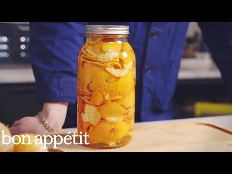 how-to-make-organic-citrus-cleaner-|-bon-appetit