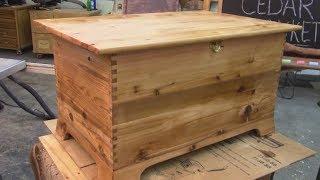 Building a Cedar Blanket Chest MM 137