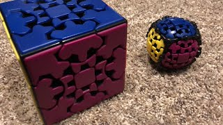 How to solve a gear ball and gear cube!