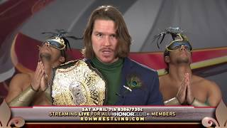 ROH World Champion Dalton Castle vs Marty Scurll at Supercard of Honor