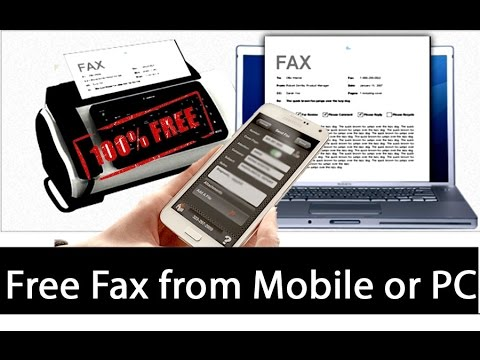 Fax from Mobile or Pc with Proof [Hindi]
