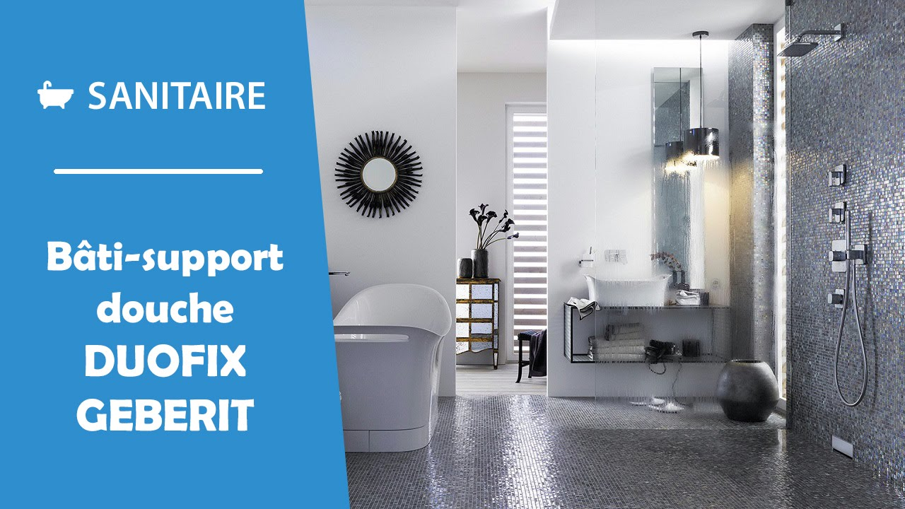 B ti support douche italienne geberit duofix doovi for Geberit technical support