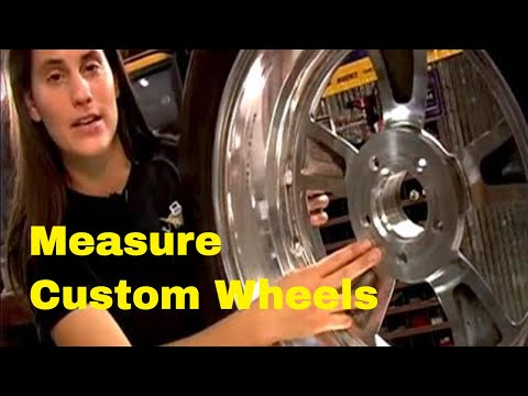 How To Measure Custom Wheels And Tires Video V8TV
