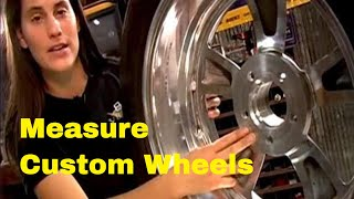 How To Measure for Custom Wheels And Tires Video V8TV