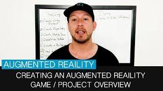 Genel bakış artırılmış gerçeklik oyunu ve AR proje oluşturma