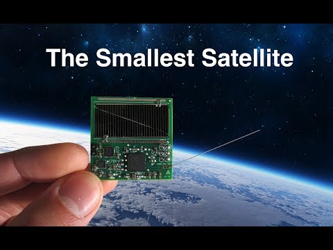 The Smallest Satellite In Space