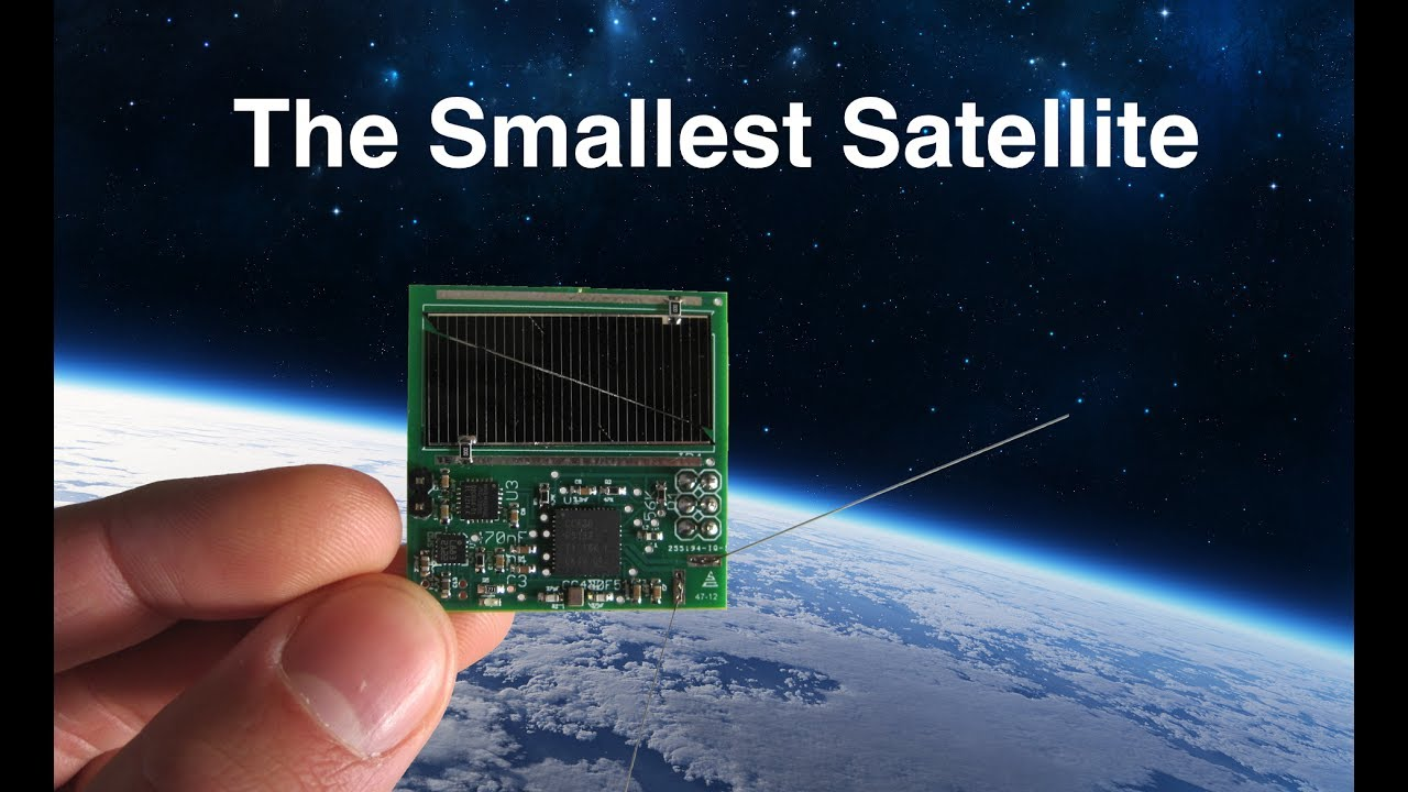 The Smallest Satellite In Space Youtube