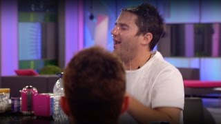 George acts up a treat | Day 16, Celebrity Big Brother