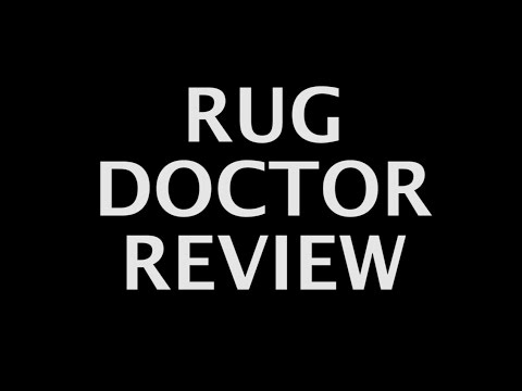 Rug Doctor Carpet Cleaning Test And Review