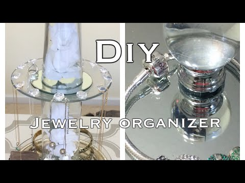 Jewelry Organizer DIY & Storage