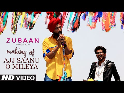 Ajj Saanu O Mileya (The Anthem of Dreams) Making Video | ZUBAAN | Vicky Kaushal, Sarah Jane Dias