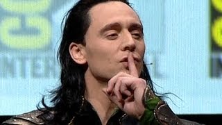 Repeat youtube video Tom Hiddleston as LOKI at Comic-Con 2013 (Official-HD)