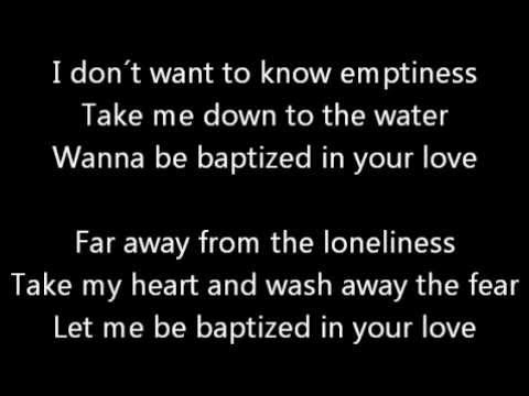 Lenny Kravitz KARAOKE - Baptized