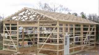 Updates New Project My Pole Barn  Garage  Cha Pole Buildings Pt 5